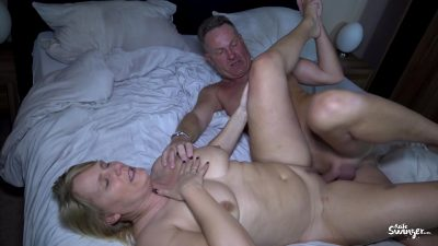 Busty German Wife Cheating With Lover