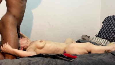 Crazy Hot Interracial Sex With My Hot Midget Fuck Toy !!! Oooozing Creampie Ending ( Must See!! )
