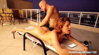 Hot Curvy Babe Thrilling Sex Scene