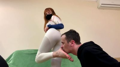 Kiss My Ass! Worship My Ass! Be A Chair For My Ass! – You Are My Personal Butt-slave!