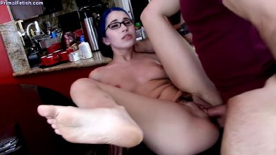 Mind Control In Hot Glasses Delivery Girl