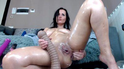 Solo Toy Masturbation With Lon