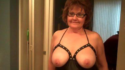 Studded Bliss, Rubber Leggings & Cum Pt1 – BustyBliss
