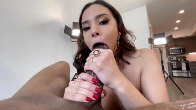 Violet Starr – Big Ass Latina Babe Violet Opens Her Backdoor For Monster B